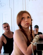 Two Russian girl bottoms beaten