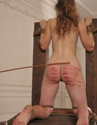 Girl humiliated and caned severely