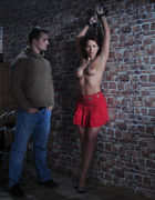 Slave at wall