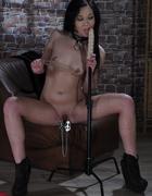 Slavegirl preparing for action