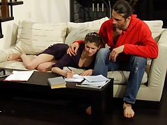 Pain punishments help his girlfriend to become university student.