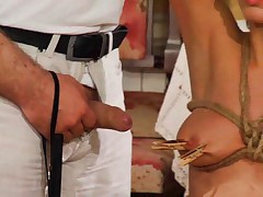 She becomes house slaves to be dominated, trained, punished, spanked, whipped,..