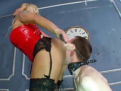 Licking a pussy as beautiful as that of Mistress Simona is something that any..