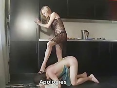 When your Mistress spits orders at you, you better listen up - and act fast,..