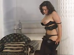 Russian plump babe Elena loves her husband despite he is a total looser and..
