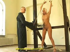 This alluring blond lady have lived in sin and now she wants to escape from..