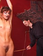 Brutal caning of pretty girl, pic #13