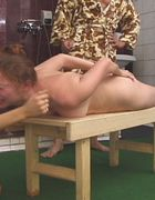 Bathhouse beatings for filthy bitch, pic #5