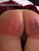 Georgious girl is severely paddled, pic #7