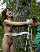 Young girl brutally bound, pic #12
