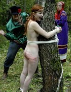 Young girl brutally bound, pic #10