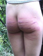 Brutal spankings and bondage, pic #4