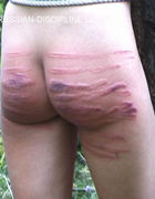 Brutal spankings and bondage, pic #7