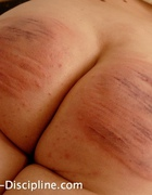 A terribly severe caning, pic #13