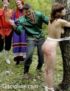 A girl brutally caned, pic #14