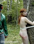 A girl brutally caned, pic #6