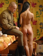 Asian Beauty caned brutally, pic #11
