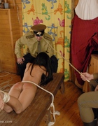 Asian Beauty caned brutally, pic #4