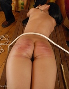 Asian Beauty caned brutally, pic #10