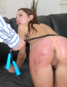 Russian beauty spanked to tears, pic #14