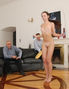 Russian beauty spanked to tears, pic #2