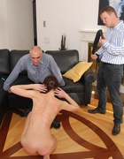 Russian beauty spanked to tears, pic #5