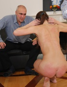 Russian beauty spanked to tears, pic #6
