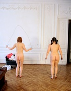 Two Russian girl bottoms beaten, pic #3