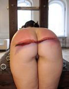 Two Russian girl bottoms beaten, pic #4
