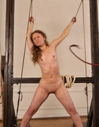Bound and beaten with a rope, pic #11