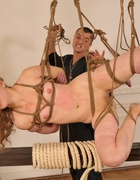 Bound and beaten with a rope, pic #6