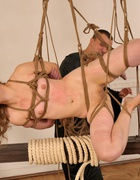 Bound and beaten with a rope, pic #7