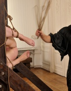 Bound and beaten with a rope, pic #8