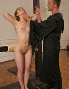 Girl humiliated and caned severely, pic #9