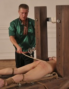 Bound for a strong caning, pic #3