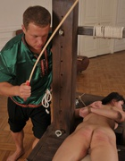 Bound for a strong caning, pic #5