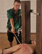 Bound for a strong caning, pic #8