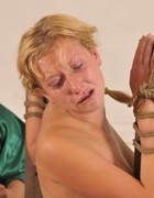 Bound naked to the punishment, pic #8