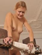 Virgin bottom caned, pic #2