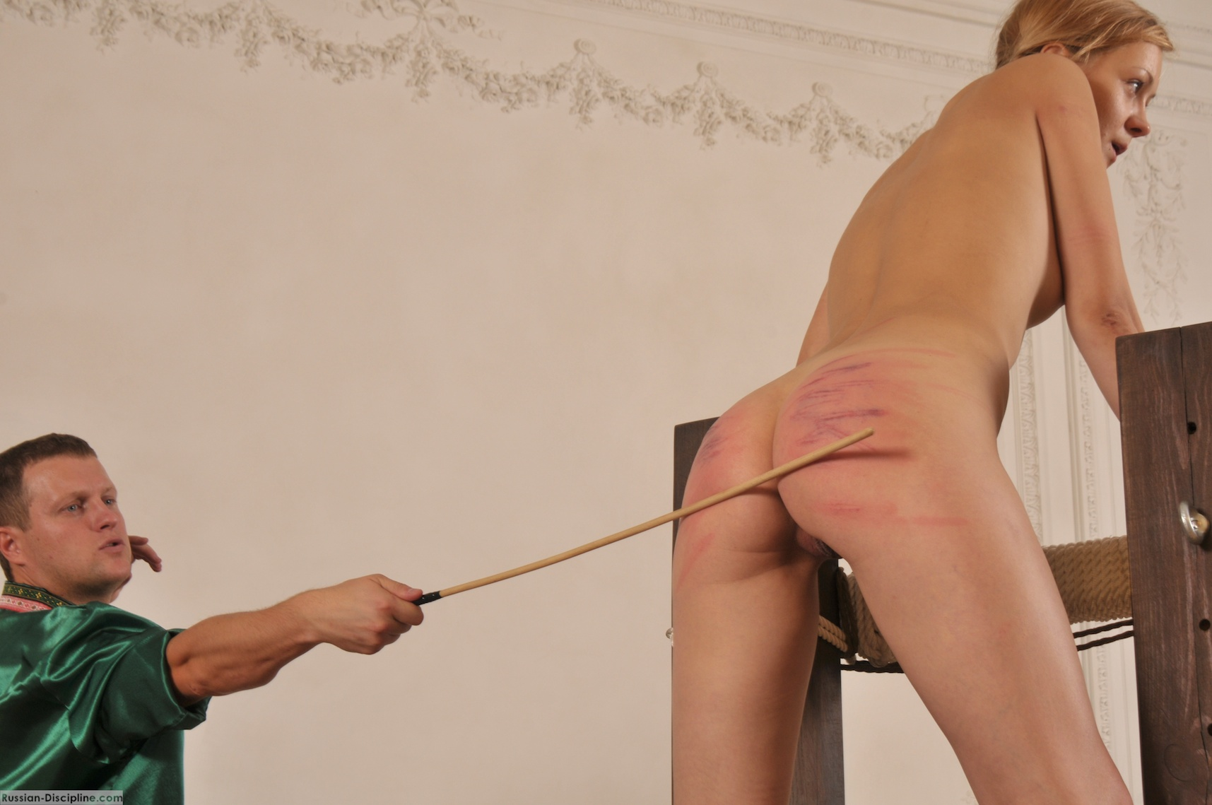 russian caning