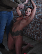 Slave at wall, pic #10
