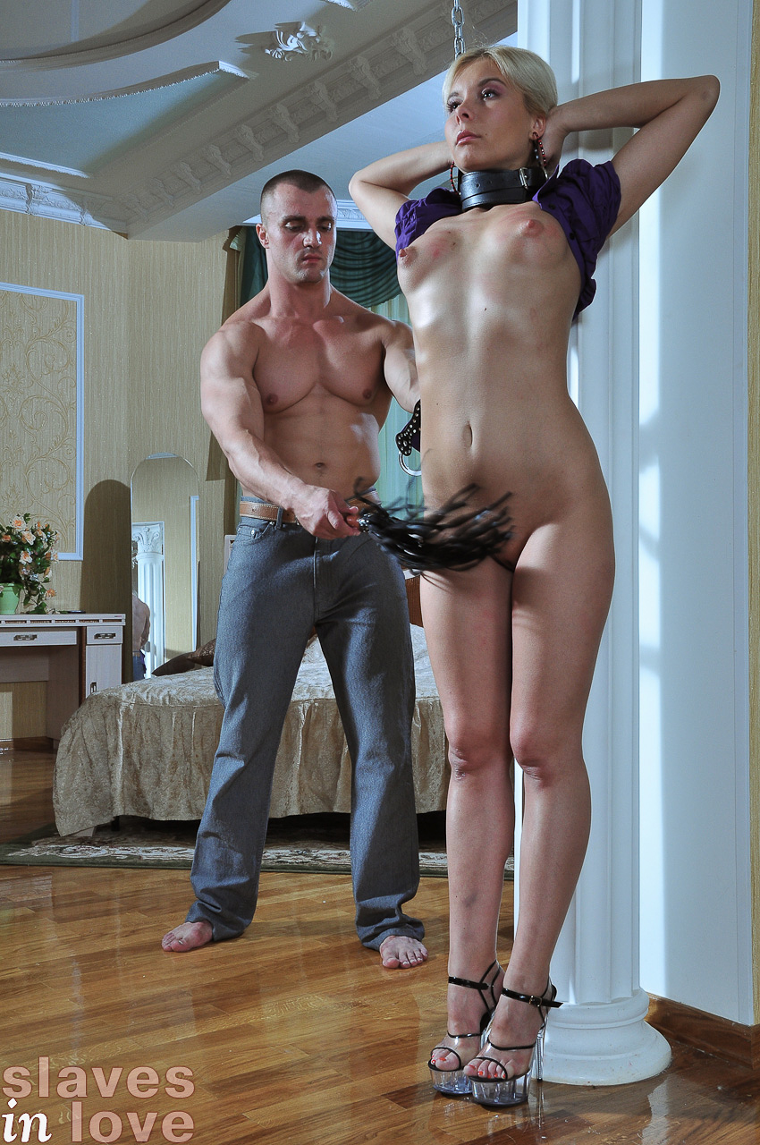 Russian slave girl takes a monster cock 4