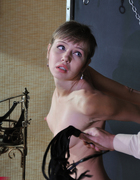 Bound girl fucked, pic #12