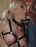 Hot blonde slavegirl, pic #14