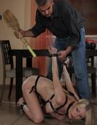Hot blonde slavegirl, pic #6