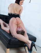 Slave servicing pussy, pic #9