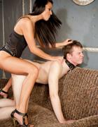 Huge strap-on for slave, pic #13