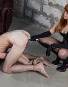 Monstrously painful femdom fuck, pic #14