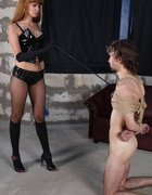 Monstrously painful femdom fuck, pic #4