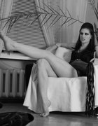 Femdom in black-and-white, pic #9